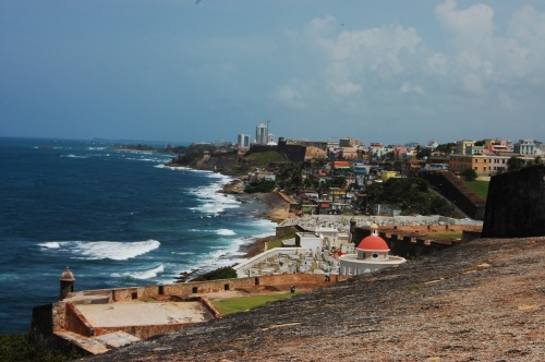 OSJ as seen from El Morro